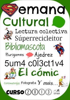 Cartel Semana Cultural 4