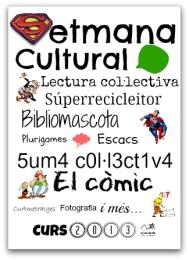 Cartell Setmana Cultural valencià 1