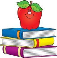 clip-art-manzana-y-libros