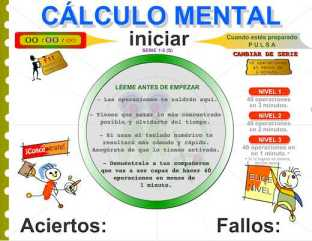CÁLCULO MENTAL II